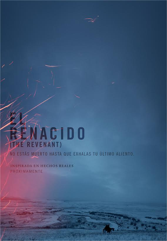 El Renacido - The Revenant - Cartel oficial