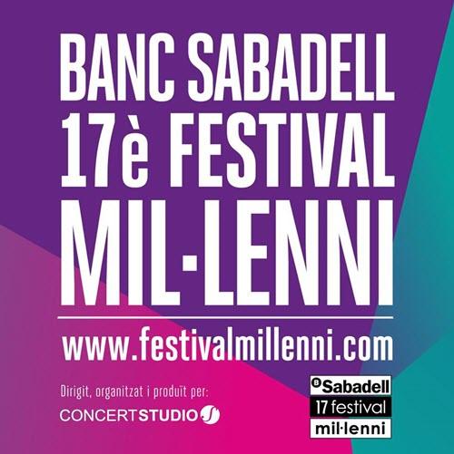 Festival Mil·lenni 2015 - 2016
