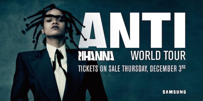 Rihanna - Conciertos ANTI