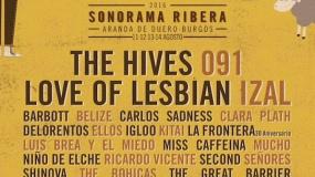 Sonorama 2016 confirma a The Hives, Love Of Lesbian, IZAL y muchos más!