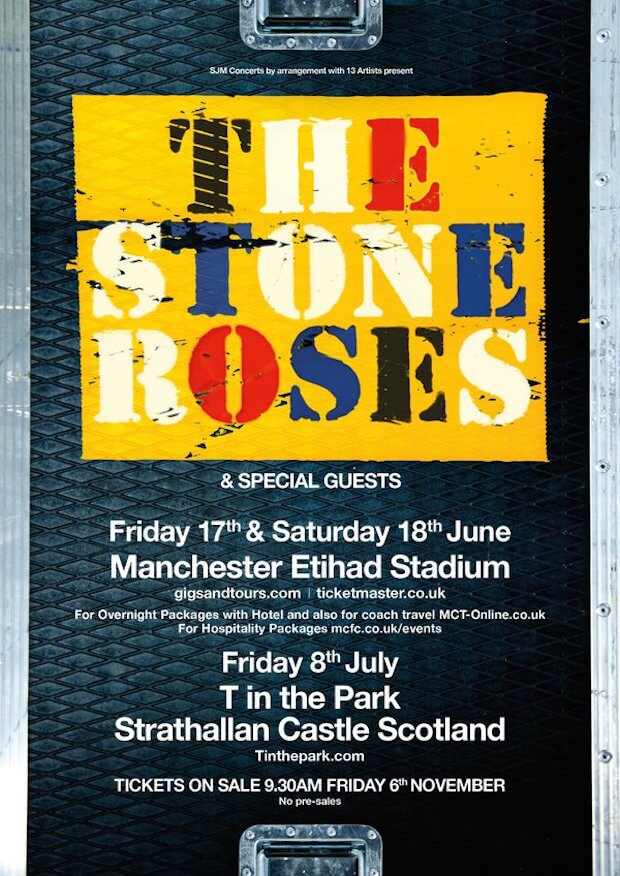 Conciertos The Stone Roses 2016