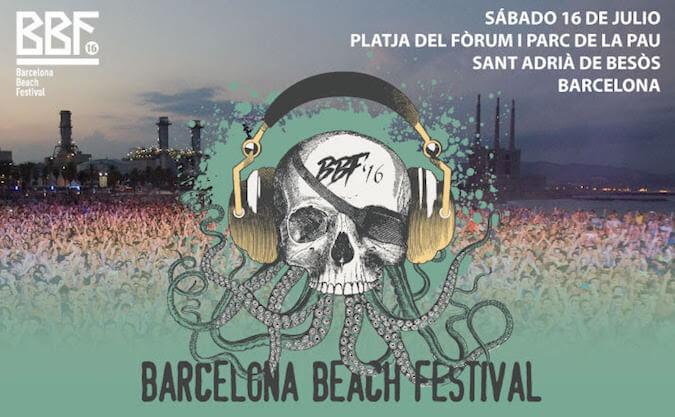Barcelona Beach Festival 2016 - BBF