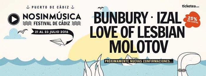 No Sin Música Festival 2016