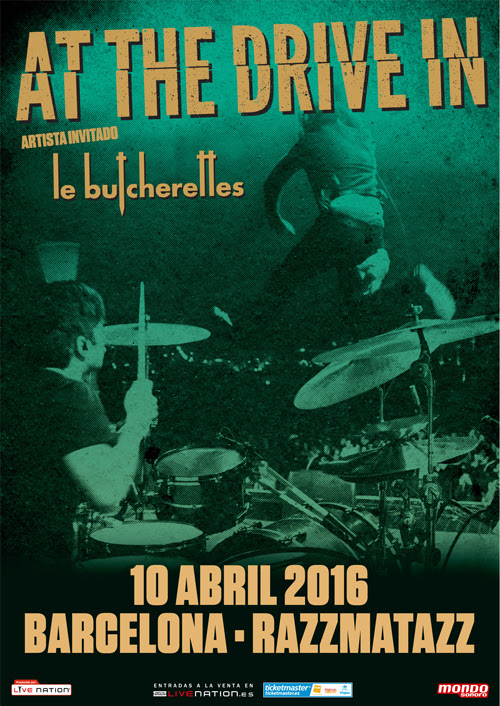 Concierto de At The Drive-In en Barcelona