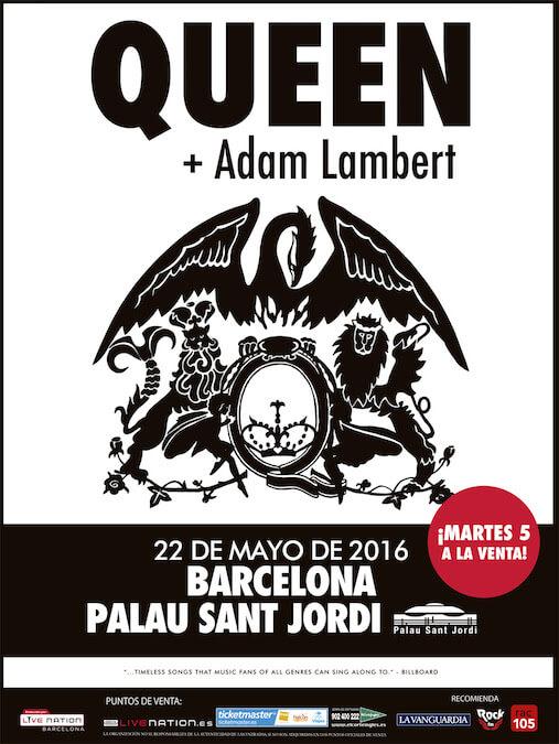 Concierto Queen + Adam Lambert - Barcelona