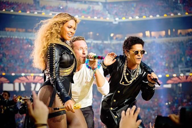 Super Bowl 2016: Coldplay, Beyoncé y Bruno Mars