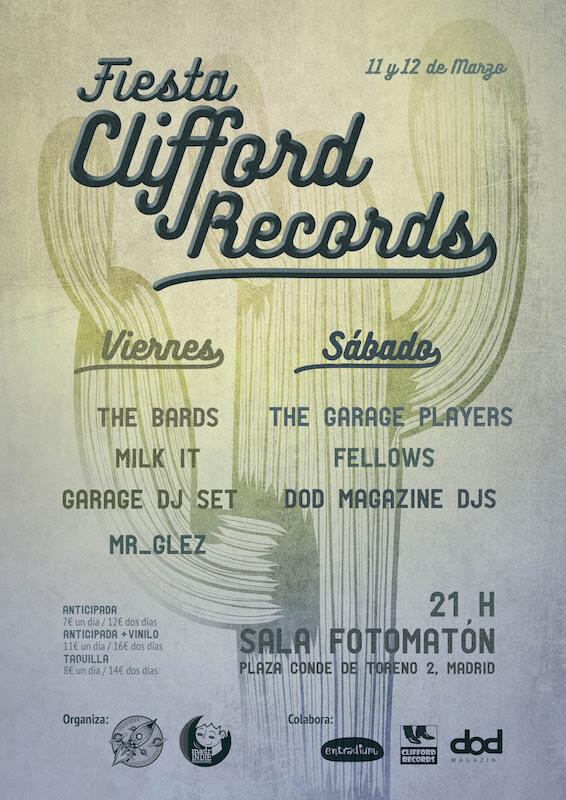 Fiesta de Clifford Records en el Fotomatón de Madrid