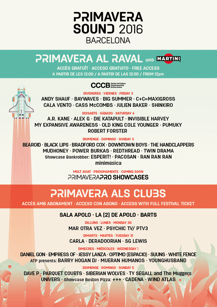 Primavera Sound 2016 - Raval y Clubs