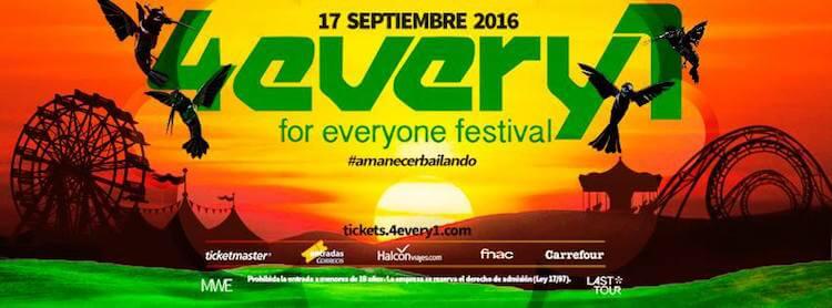 4EVERY1 FESTIVAL 2016