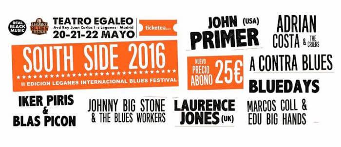 Leganés Blues Festival South Side 2016