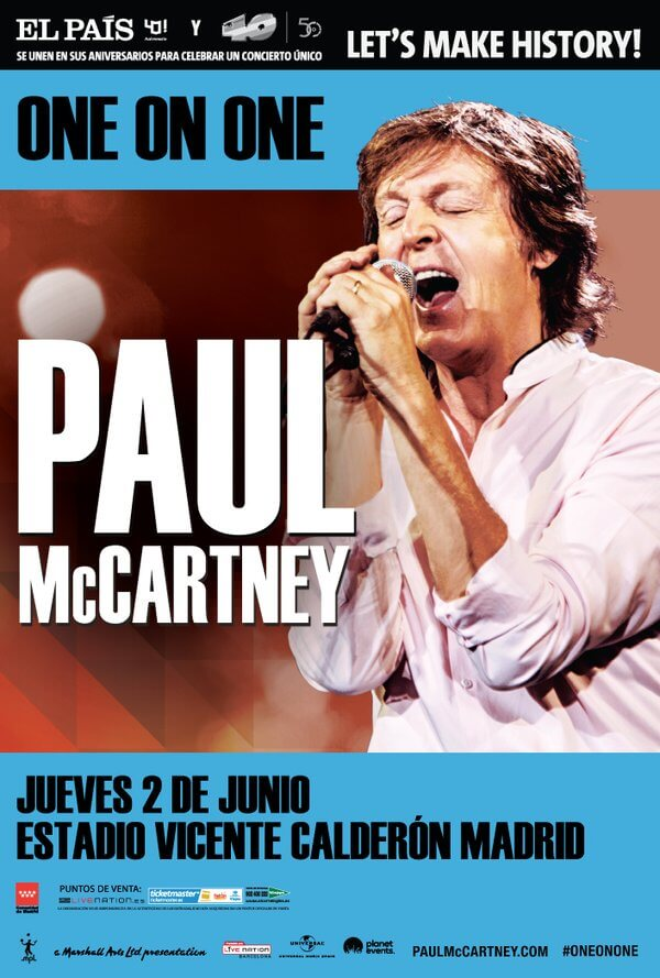 Concierto Paul McCartney en Madrid