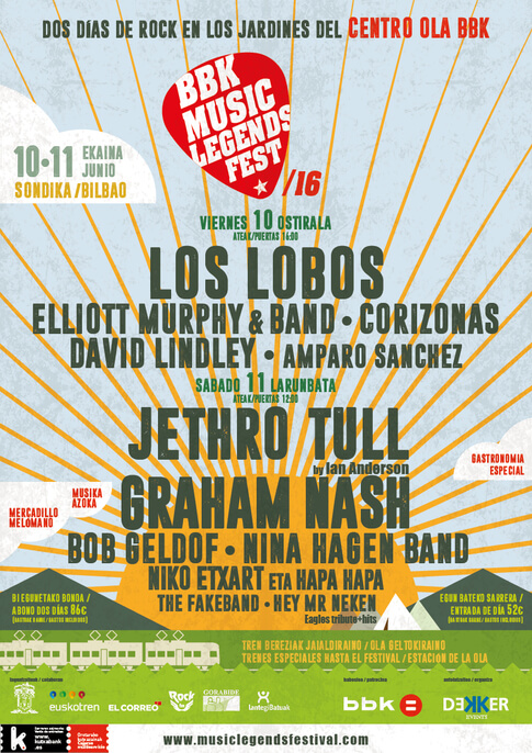 BBK Music Legends Festival 2016