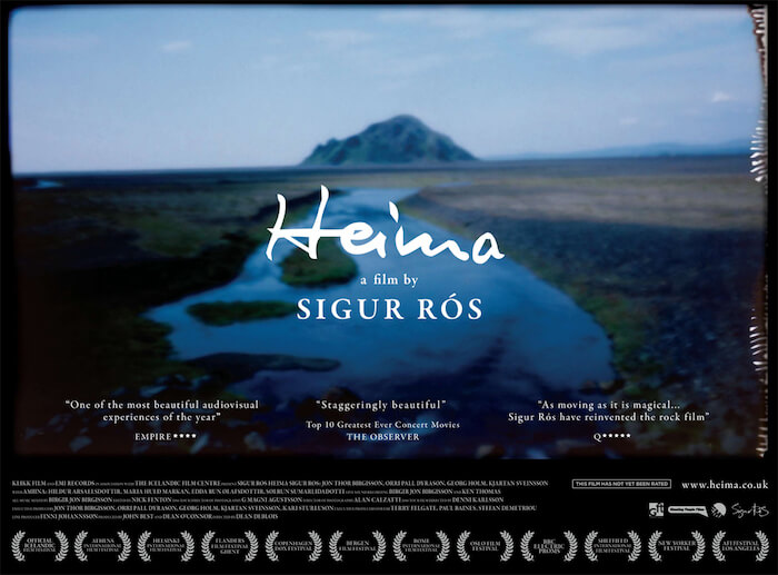 Documental Heima - Sigur Rós