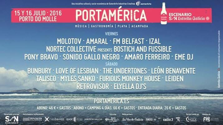 Festival PortAmérica 2016