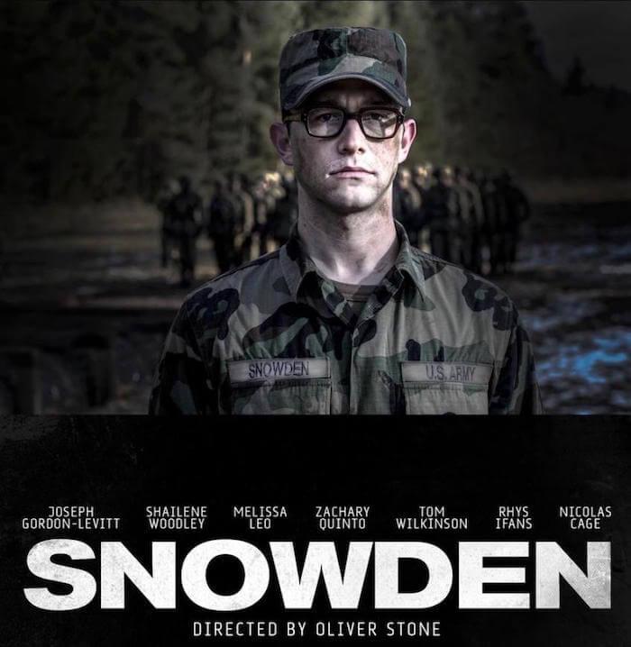 Snowden - Película Oliver Stone