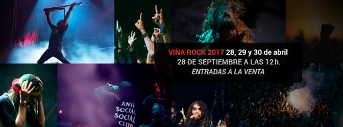 Viña Rock 2017 - Fechas y entradas