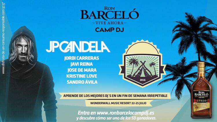 CAMP DJ - Ron Barceló