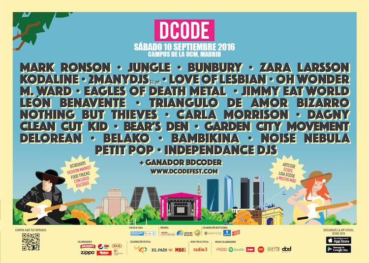 DCODE Festival 2016 - Cartel