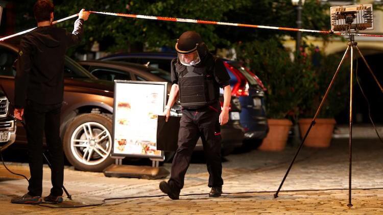 Atentado terrorista Ansbach - Festival