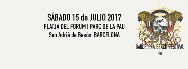 Barcelona Beach Festival 2017