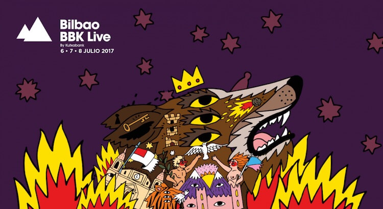 Bilbao BBK Live 2017 - Logo