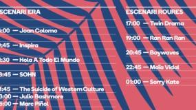 Horarios del Festival'Era 2016