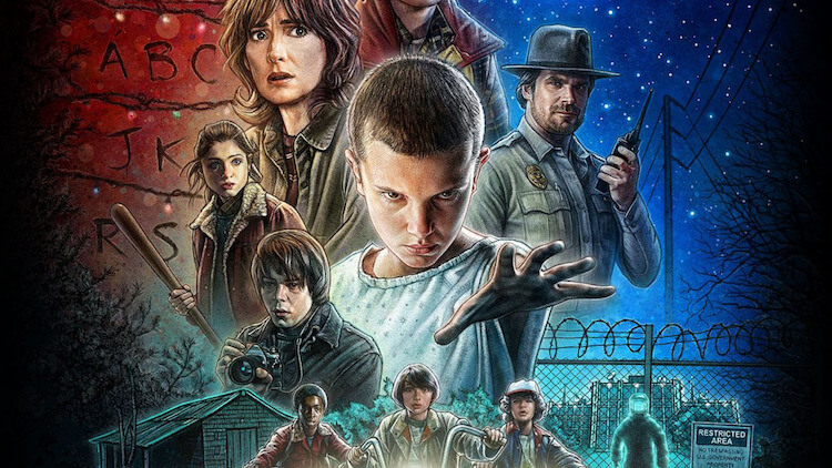 Stranger Things - Serie Netflix