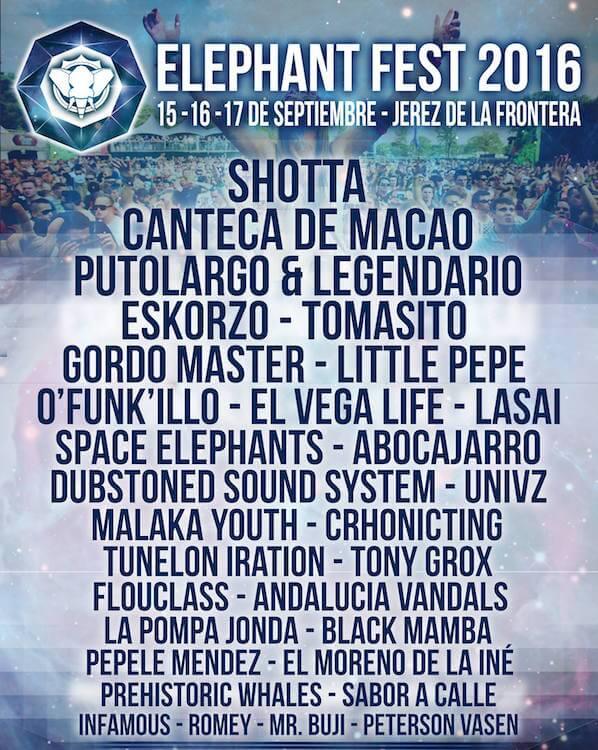 Elephant Fest 2016 Cartel