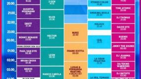 Horarios del Medusa Sunbeach Festival 2016