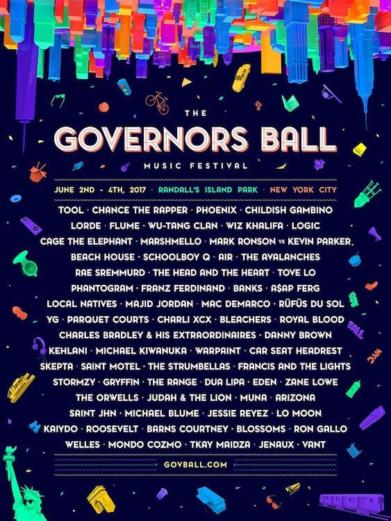 Cartel The Governors Ball Festival 2017