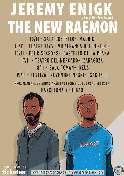 Conciertos Jeremy Enigk - The New Raemon