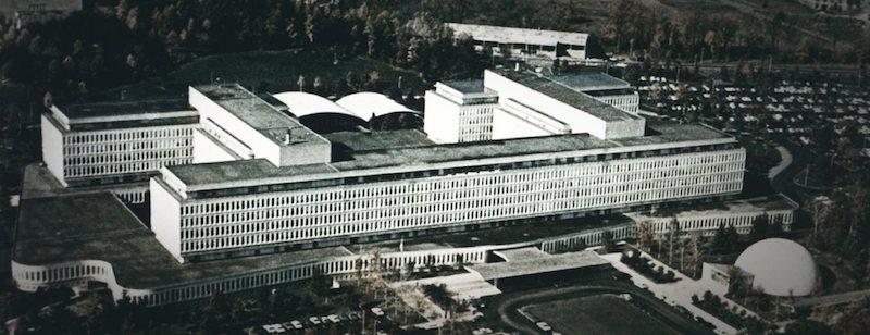 Edificio CIA - Agencia Central de Inteligencia