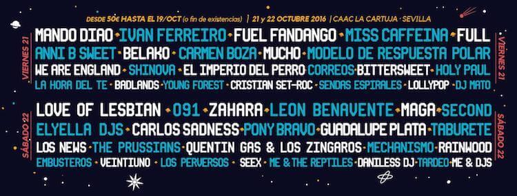 Cartel Interestelar Sevilla 2016
