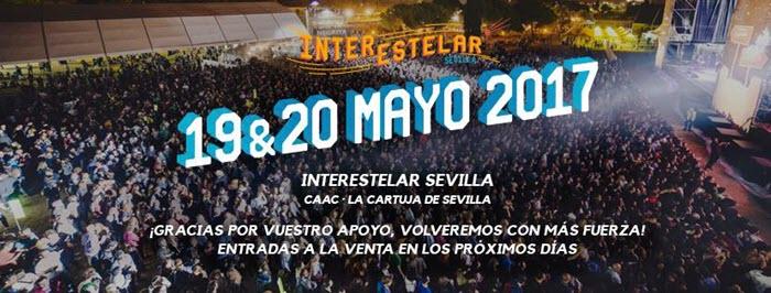 Interestelar Sevilla 2017