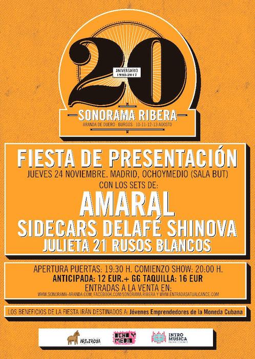 Sonorama Ribera 2017 - Fiesta Presentación