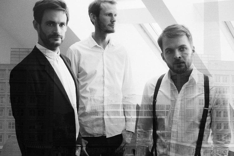 nonkeen (Nils Frahm, Sebastian Singwald y Frederic Gmeiner)