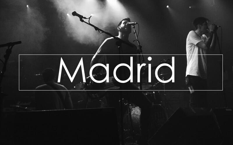 Conciertos en Madrid