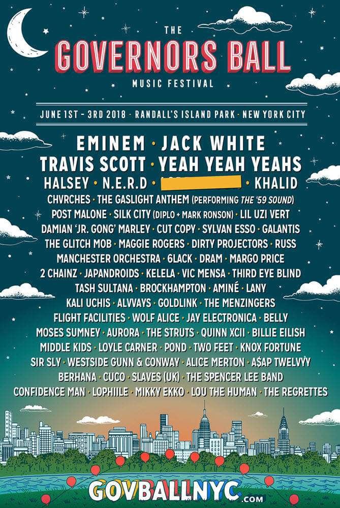The Governors Ball Festival 2018