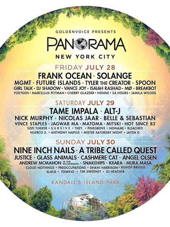 Festival Panorama 2017 - Cartel