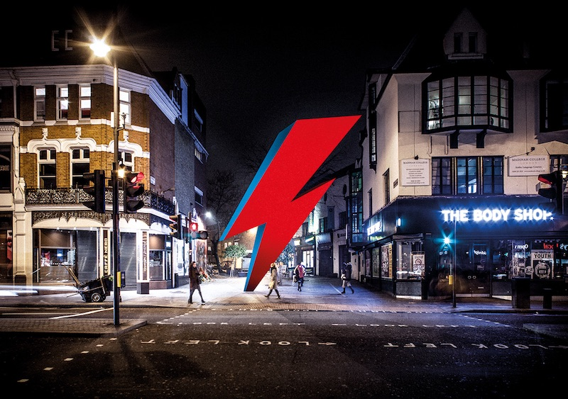 Monumento David Bowie en Londres