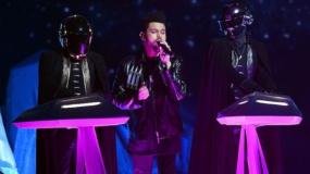 Así fue la actuación de Daft Punk y The Weeknd en los Grammys 2017