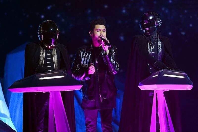 Daft Punk + The Weeknd - Grammys 2017