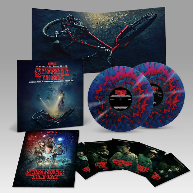 Stranger Things - Banda sonora con Reedición em vinilo