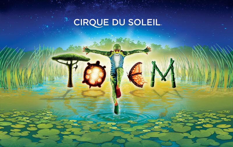 Circo del Sol 2017 - Espectáculo Totem en España
