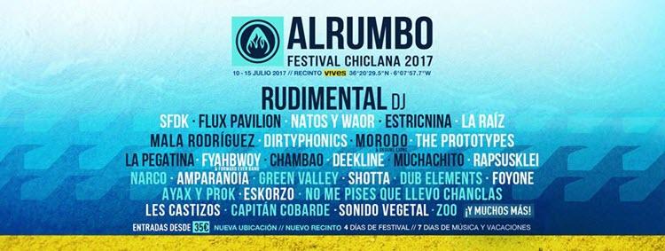 Festival Alrumbo 2017 - Cartel
