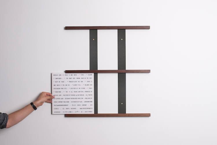 Harold Design: estantería para guardar tus discos de vinilo
