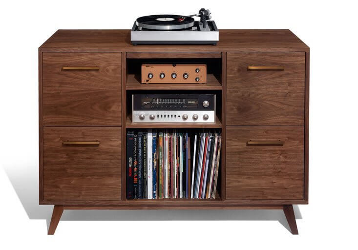Atocha design muebles para tocadiscos y discos de vinilo for Vinilos para muebles de salon