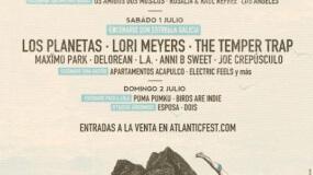 Atlantic Fest 2017 anuncia cartel por días y nuevas incorporaciones