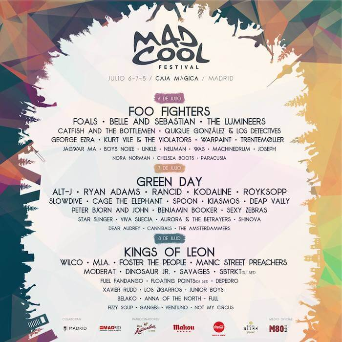 Cartel Mad Cool Festival 2017