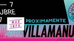 Horarios del Villamanuela Festival 2017